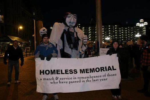 PHOTO: The 30th Annual Minnesota Homeless Memorial March and Service is set for this evening, honoring people in the state who died this year while homeless. Photo credit: Simpson Housing Services.
