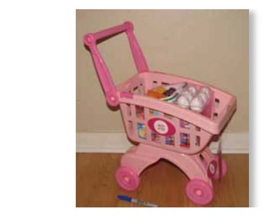 "PHOTO: A shopping cart play set is among two dozen toys named as potential hazards for children in the latest annual ""Trouble in Toyland"" report. Photo courtesy of U.S. Public Interest Research Group."