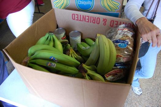 FOTO: Un total de 55 mil dólares se distribuye hoy (viernes) a los cinco bancos de alimentos que hay en el estado, gracias a un proyecto de la AARP Tennessee y Walgreens. Crédito de la foto: Billy Brown/Flickr.