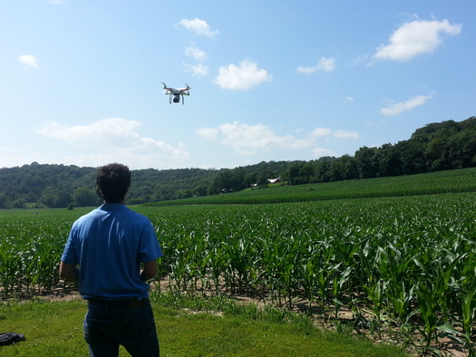 PHOTO: The FAA is expected to release draft regulations soon for commercial use of drones for businesses, researchers and government agencies. Photo credit: Angela Treinen/Flickr.