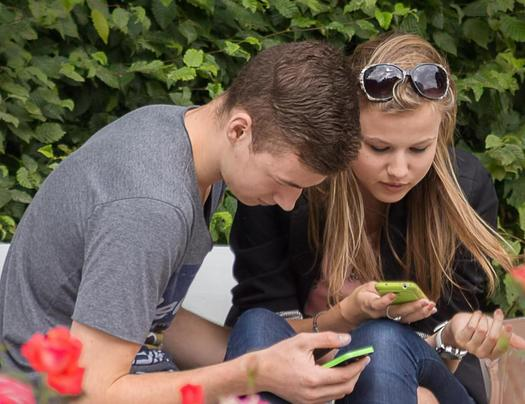 PHOTO: Mobile phones and tablets are popular gifts, but experts are warning parents there are some drawbacks to technology. Photo credit: Jan Fidler/morguefile.