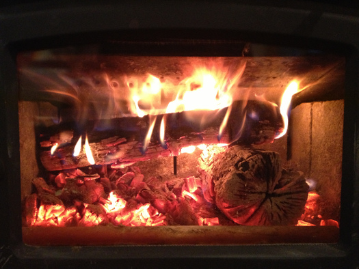 PHOTO: There are ways to burn a more efficient fire to help reduce wood smoke, which is harmful to human health and can be a major source of air pollution. Photo credit: Steven Johnson/Flickr.