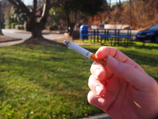 PHOTO: The youth smoking rate in Iowa is 18 percent, well above the U.S. average of around 15 percent. Photo credit: Fried Dough/Flickr.