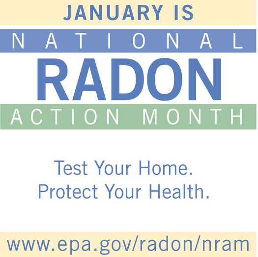 national radon month is going on