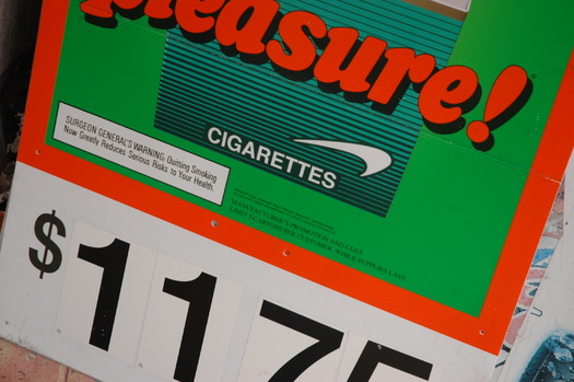 PHOTO: A new national report says Connecticut's smoking-prevention efforts lag behind many states, ranking it 29th in the nation for the amount spent on prevention and cessation programs. Photo credit: Mike Clifford