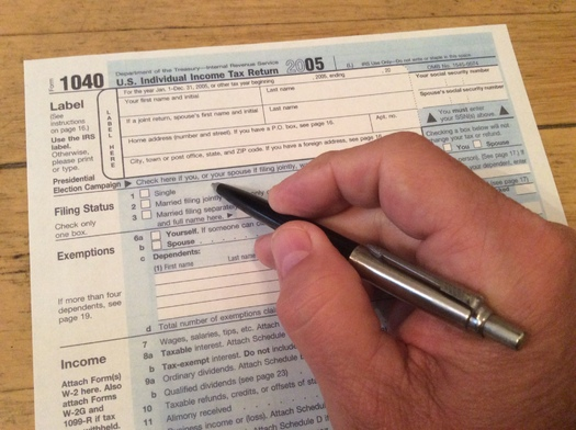 PHOTO: The April 15 income tax filing deadline will be here before many Commonwealth wage earners  know it, which is why tax experts say a little preparation now will make tax time less stressful. Photo credit: M. Scheerer
