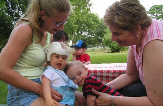 PHOTO: The get outside message for children is being extended to those with disabilities. A professional outdoor educator cites benefits for a child's development, as well as stress relief for the whole family. Photo credit: Fond du Lac County, Wisconsin.