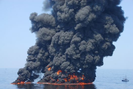 PHOTO: The deadly Deepwater Horizon oil spill has prompted federal agencies to update their oil-spill preparation and response rules. The EPA is asking the public to weigh in on the proposal. Photo courtesy National Oceanic and Atmospheric Administration (NOAA).