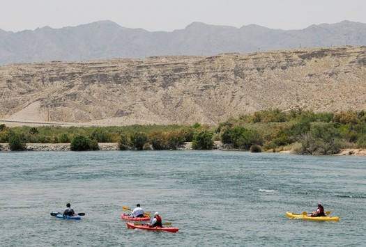 PHOTO: The Colorado River means millions of jobs and billions of dollars to Nevada's economy each year, according to a new report. Photo courtesy Nevada Department of Conservation and Natural Resources.