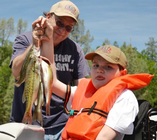 PHOTO: The 'get outside' message for children is being extended to those with disabilities. A professional outdoor educator cites benefits for a child's development, as well as stress relief for the whole family. Photo credit: U.S. Dept. of the Interior.