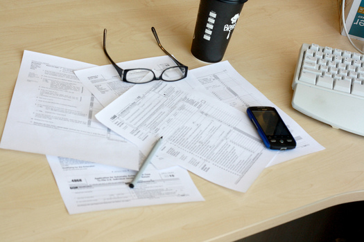 PHOTO: Financial advisers say now is the time to start planning and getting organized, so you're not caught in a pinch at the April 15 income tax-filing deadline. Photo credit: MoneyBlogNews/Flickr.