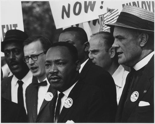 PHOTO: People around Virginia and across the nation are honoring Dr. Martin Luther King Jr. through volunteer service on his birthday. Photo from the U.S. National Archives.