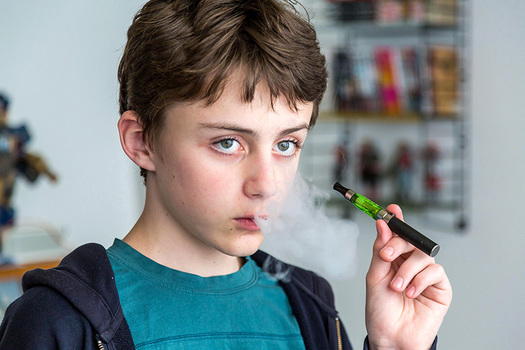 PHOTO: The number of calls to poison-control centers about electronic cigarette incidents more than doubled last year, which has prompted the Campaign for Tobacco-Free Kids to call on the Food and Drug Administration to finalize regulations. Photo courtesy of the U.S. Department of Health and Human Services.