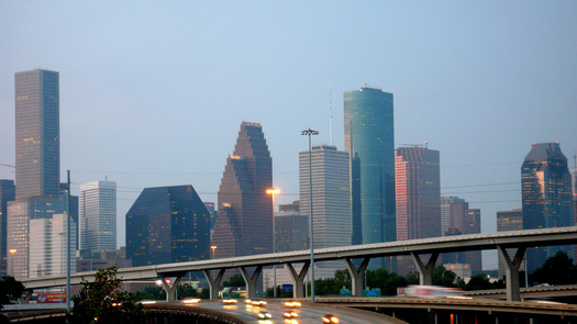 PHOTO: Houston is ranked as the sixth most polluted city in the nation in terms of ozone, but improvements could be coming with an EPA proposal to strengthen standards. Photo credit: Matthew Rutledge/Flickr.
