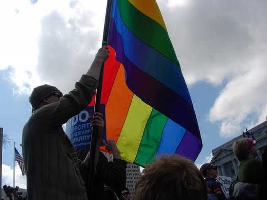 PHOTO: According to the Movement Advancement Project, LGBT Hoosiers are at risk of harm through legal discrimination, and hostile education and employment environments. Photo credit: Jamison Wieser/Flickr.