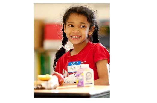 PHOTO: As a hunger-fighting strategy, the number of children getting breakfast in school is rising. West Virginia now is tied for best in the nation for its ratio of kids eating breakfast at school, according to a new report. Photo courtesy Greater Philadelphia Coalition Against Hunger.