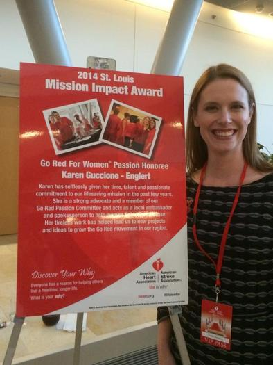 PHOTO: Karen Englert was diagnosed with a rare heart disorder in her 20s, and has become a champion for heart-disease awareness, helping to spread the message that heart disease does not discriminate. Photo courtesy of Karen Englert.