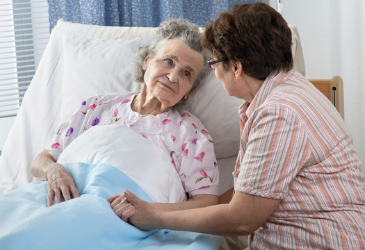 PHOTO: Advocates say Gov. Dannel Malloy's new budget will double the share cost for caregivers help for at risk seniors. Courtesy AARP/Istockphoto/Alexis Rathis