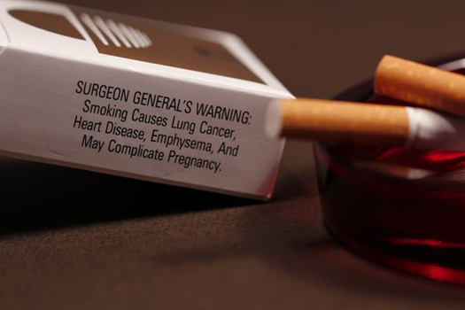 PHOTO: A new study finds deaths from kidney failure, breast and prostate cancer may be connected to smoking. Photo courtesy of CDC.
