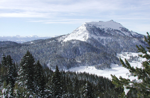 PHOTO: Access and recreation on public lands are top benefits of living in Wyoming, even higher on the priority list than economic opportunities, quality of education and health care. Those findings are in a new poll.  Photo of the Bridger-Teton National Forest courtesy of U.S. Forest Service.