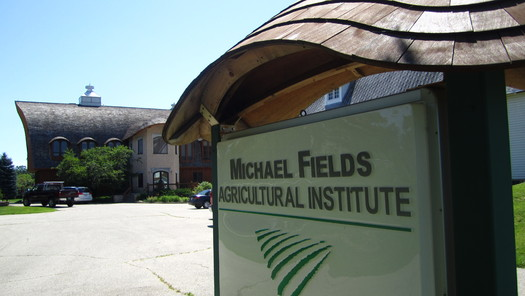 "PHOTO: The Big Brown Barn at the Michael Fields Agricultural Institute near East Troy, WI, will be the place for a free screening of the movie ""GMO OMG,"" which raises questions about genetically modified organisms that are in our food chain right now. Photo credit: Michael Fields Agricultural Institute."