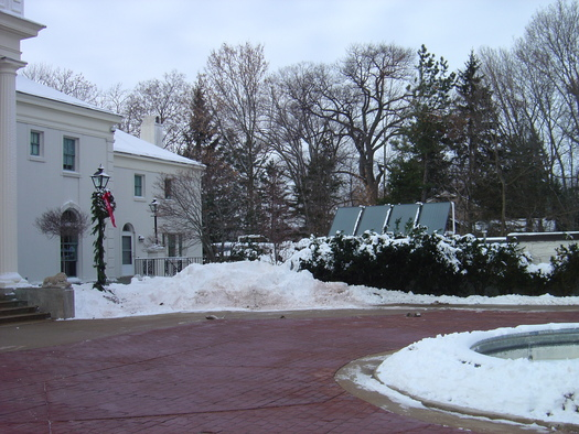 PHOTO: Solar panels, such as these at the Wisconsin Governor's Executive Residence, are becoming more popular in the Badger State. A new report from The Solar Foundation shows steady growth in the number of Wisconsin jobs connected directly to the solar industry. (Photo credit: Wisconsin.gov)
