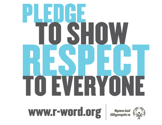 "GRAPHIC: This is Spread the Word to End the Word day, an effort to get all people to stop using the word ""retarded."" Graphic courtesy of Special Olympics."