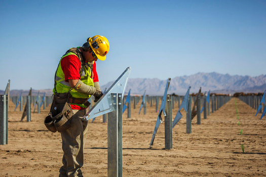 PHOTO: New Mexico lawmakers are considering legislation to cut future renewable-energy requirements for utilities in the state. Photo courtesy California Energy Commission.