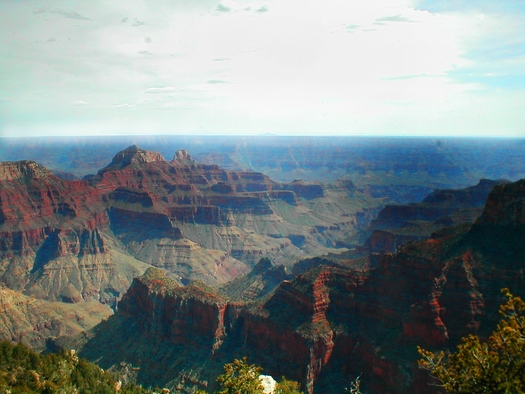 PHOTO: Arizona is challenging air quality rules put into place by the EPA when it determined the state's air quality plan wasn't sufficient to reduce polluted haze at places like Grand Canyon National Park. Photo courtesy U.S. Dept. of Transportation.