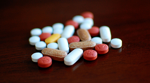 PHOTO: On average, the U.S. sees at least two million accidental poisonings each year, so families are being urged to make sure any dangerous medications or household products are kept locked up or out of reach. Photo credit: Jamie/Flickr.