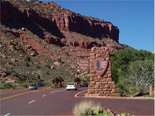 PHOTO: A new report says more Americans are retiring to communities in the West, such as St. George, that are home to protected public lands such as Zion National Park. Photo credit: U.S. Department of Transportation.