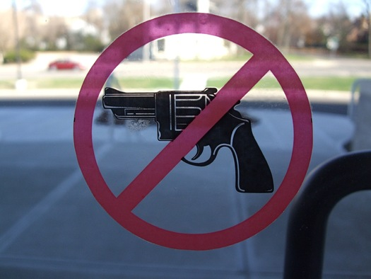Florida currently bans guns on college campuses, but some lawmakers want to change that. Photo credit: flickr/Creative Commons/Scott Beale
