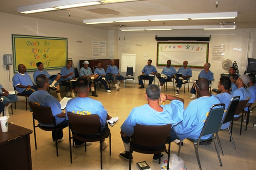 PHOTO: Health care spending is at an all-time high in the U.S., but a new report in the Journal of American Medicine finds access to quality health care for young men of color so disproportionately poor they stand a better chance of living longer in prison than in society. Photo credit: State of California Office of Public and Employee Communications.