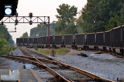 PHOTO: Emissions traced to transporting coal and other resources extracted from public lands have been tallied up in a new report that calls for the federal government to track those emissions, and find ways to reduce them.  Photo credit: Tony Alter/Flickr