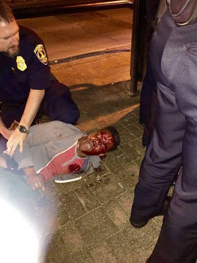 PHOTO: The arrest of an African-American University of Virginia student is sparking protests and investigations in Charlottesville. Photo courtesy of the U.VA. Black Student Alliance.