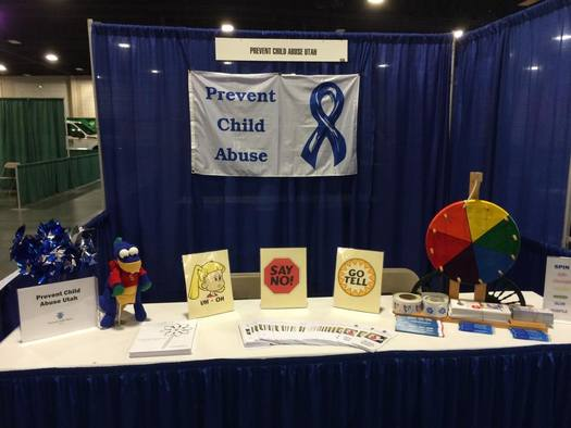 PHOTO: Reporting suspected child abuse and raising awareness of services available to help victims of abuse is the goal of a campaign underway in Utah and around the U.S. throughout the month of April. Photo courtesy of Prevent Child Abuse Utah.