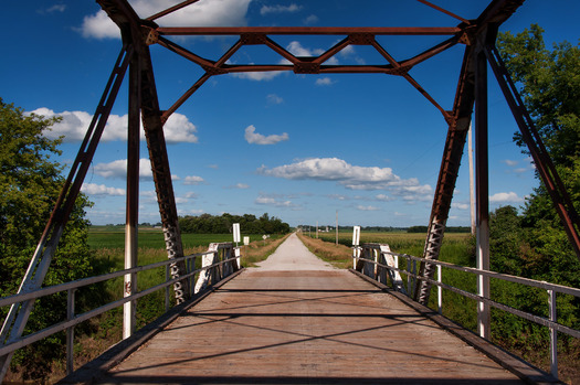 PHOTO: Iowa has one of the country's highest percentages of bridges in need of major repair or upgrading, according to a new report that breaks down the numbers state by state. Photo credit: Carl Wycoff/Flickr.