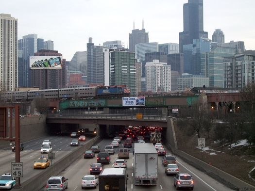 PHOTO: Legislation in Illinois would limit the use of data collected by automated license plate readers for only ongoing investigations. According to the ACLU, the cameras can read one license plate per second � amounting to nearly 28,000 plates in eight hours. Photo credit: Steve Vance/Flickr.