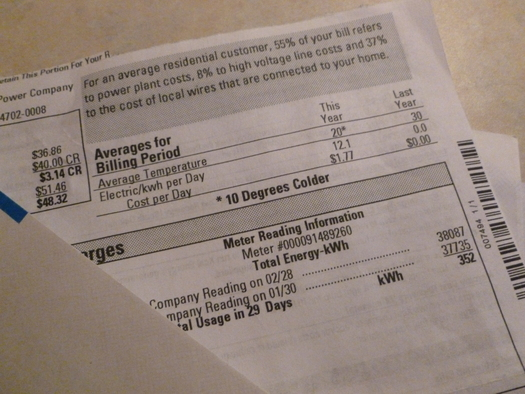 PHOTO: While electricity bills will soon be going up again for Xcel Energy customers in Minnesota, the rate hike is much less than the company was seeking. Photo credit: John Michaelson.
