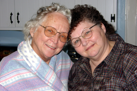 PHOTO: AARP Oregon says the typical family caregiver is a woman in her 60s who works full or part-time and helps her older parent with transportation and chores, and often oversees medications and personal finances. Photo credit: click/morguefile.com.