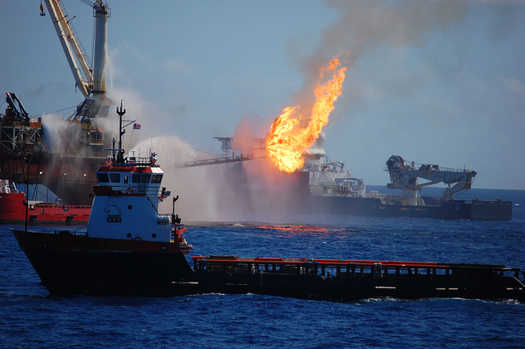 PHOTO: The fifth anniversary of the Deepwater Horizon explosion and subsequent oil spill highlights concerns over offshore oil drilling along North Carolina's coast. Photo credit: NOAA.