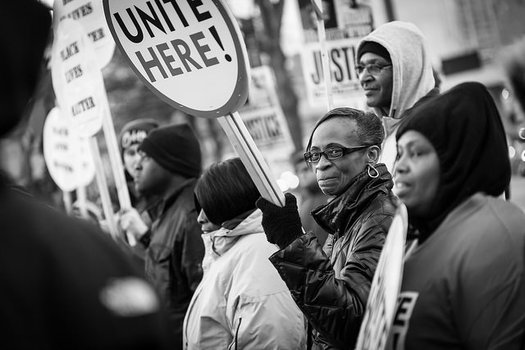 American Friends Service Committee has been on the ground in Baltimore and is calling for police to scale back their presence in promote safety. Credit: Dorret/flickr.com.