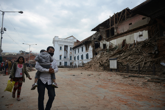 PHOTO: Scammers already are using the earthquake in Nepal as a ruse to get people to give them money, claiming to be or work for legitimate charities. Photo courtesy of usaid.gov.