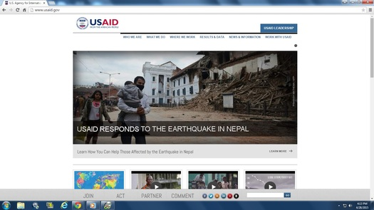 PHOTO: Many legitimate nonprofit groups are helping Nepal earthquake victims, but the BBB warns people to be cautious about others that claim to be, or be working for, charities. Image courtesy of usaid.gov.