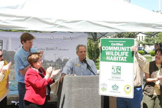 PHOTO: Charlotte recently was recognized as a Certified Community Wildlife Habitat by the National Wildlife Federation. Photo courtesy: Chris North/NCWF