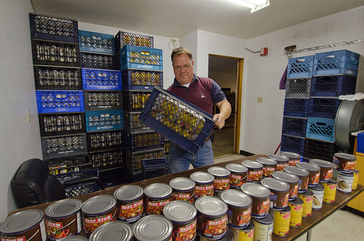 PHOTO: This Saturday is the Stamp Out Hunger food drive, the largest in the country. It's an important weekend for food pantries in many Illinois towns. Photo credit: U.S. Department of Agriculture/Flickr.