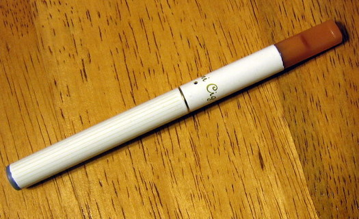 Photo: While cigarette smoking rates have gone down, the use of e-cigarettes has more than made up for that decrease, according to a new report from the Centers for Disease Control and Prevention. Photo credit: jakemaheu/WikimediaCommons.
