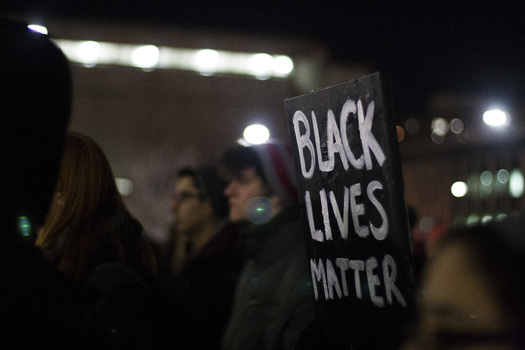PHOTO: Illinois activists and others around the nation are seeking answers in the death of Freddie Gray. The American Friends Service Committee has been on the ground in Baltimore and is calling for police to scale back their presence in promote safety. Photo credit: Kaitlyn Veto/flickr.com
