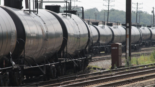 The oil train derailment and explosion in North Dakota this week came just days after a new federal rule to boost rail car safety. Credit: U.S. Department of Transportation.