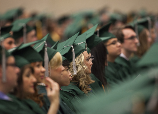PHOTO: Studies indicate female college graduates may have a tougher time finding a job and finding one that pays a fair wage. Photo credit: COD Newsroom/Flickr.